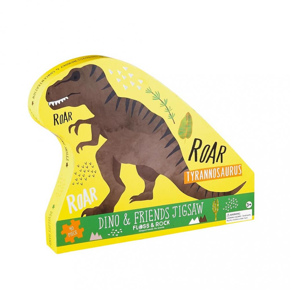 37P3105 Floss&Rock Puzzle Dinosaurus 40ks