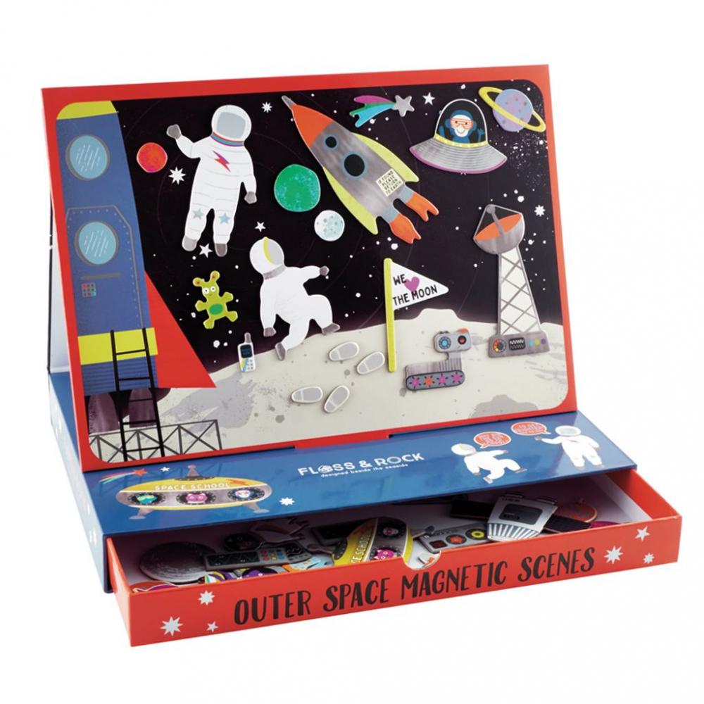 39P3510 Floss&Rock Magnetická hra Vesmír