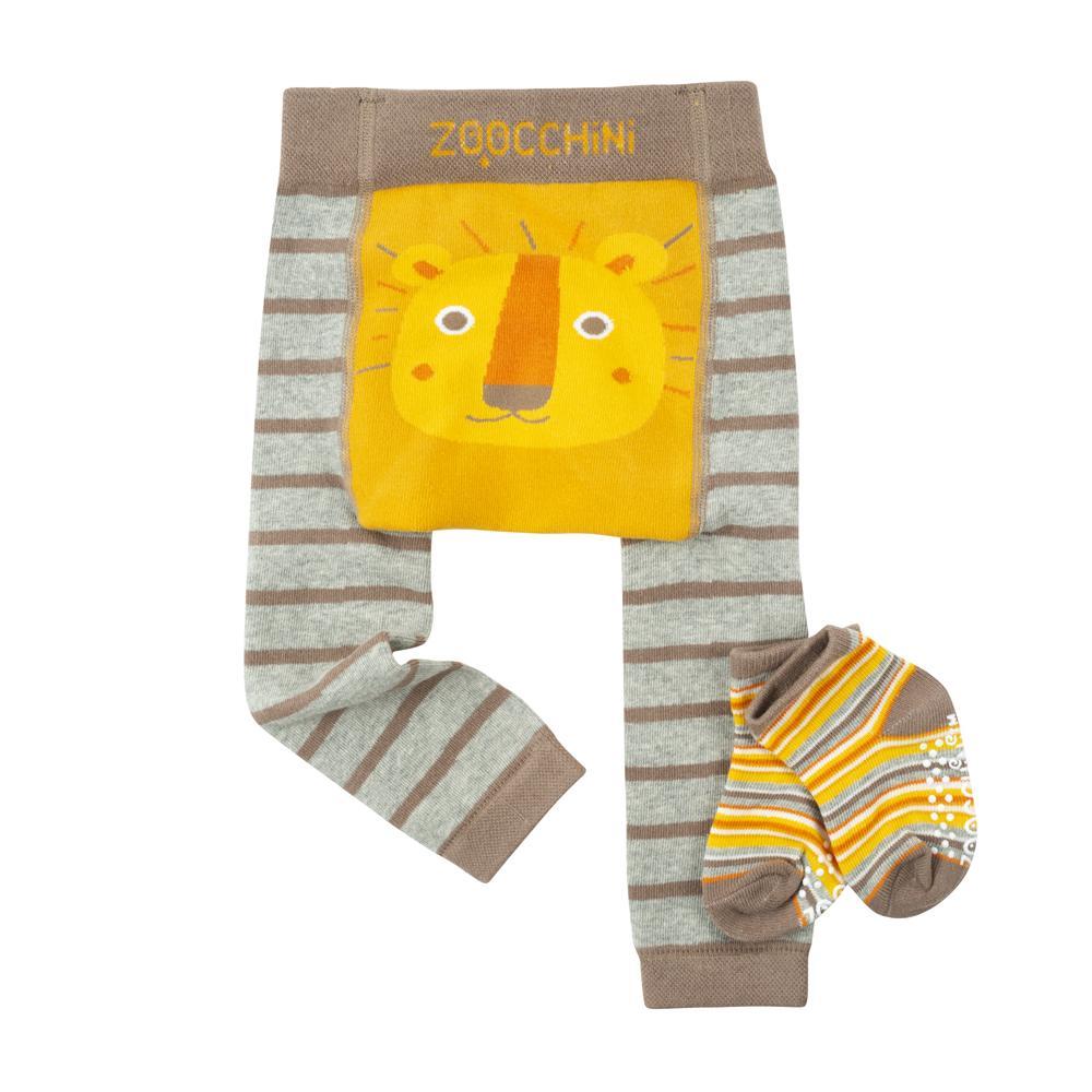 122-014-022 Zoocchini Set legínky a ponožky Lev 12 - 18 m