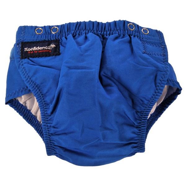 304-b Konfidence Aquanappy nastaviteľné plavky Blue