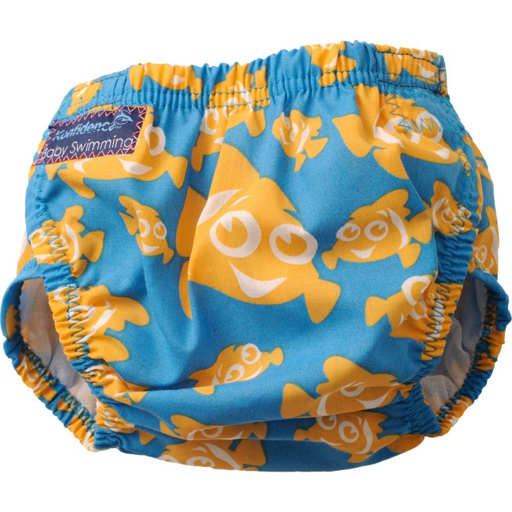 304-c Konfidence Aquanappy nastaviteľné plavky Clownfish