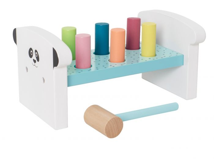 C2506 Jabadabado Zatĺkacia hra s kladivom farebná