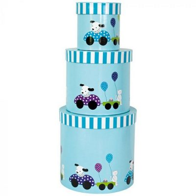 A3053 Jabadabado Úložné boxy pes modrý