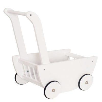 H13204 Jabadabado Vozík pre bábiky biely