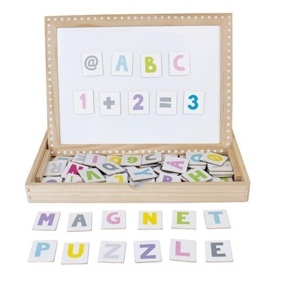 T210 Jabadabado Magnetická tabuľka Abc
