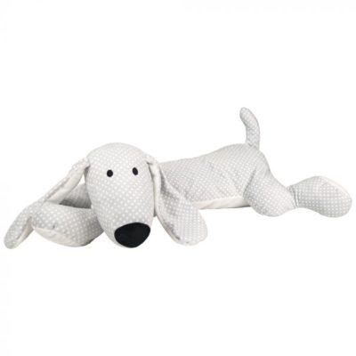 N0104 Jabadabado Plyšový pes sivý