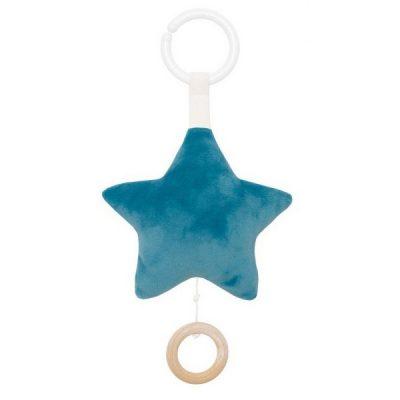 N0126 Jabadabado Hudobná hračka hviezda modrá
