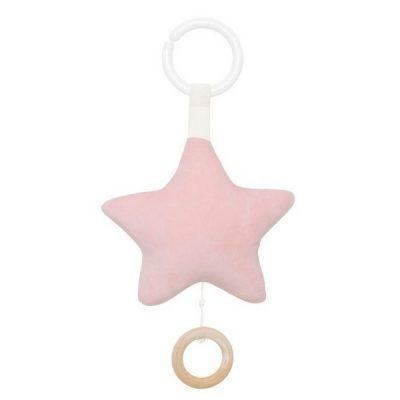 N0127 Jabadabado Hudobná hračka hviezda ružová
