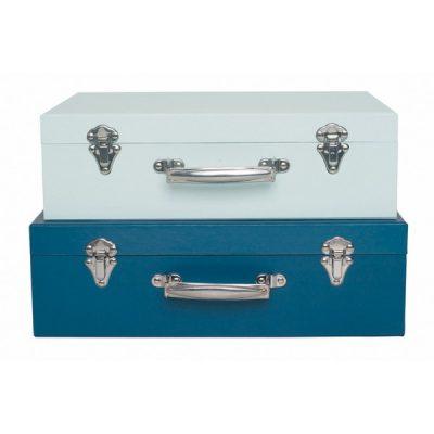 A3202 Jabadabado Úložné boxy kufor modrý