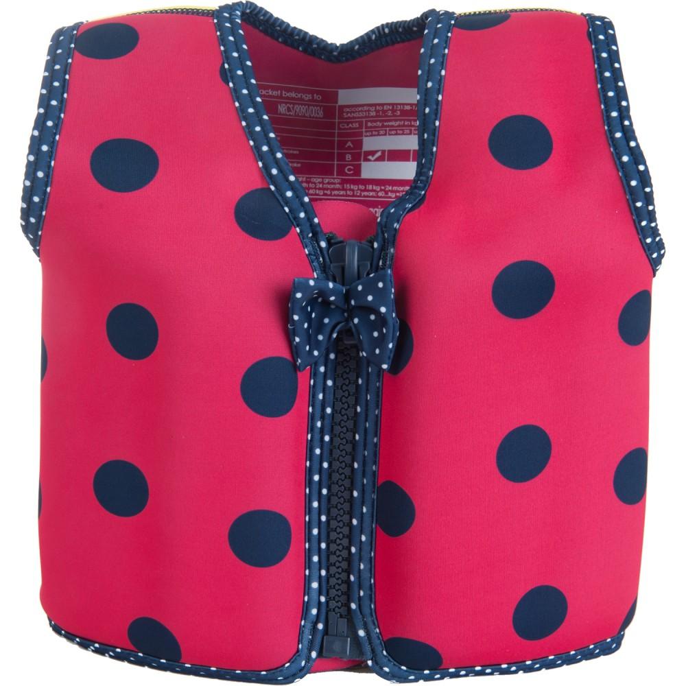 306-13 Konfidence Jacket Vesta na učenie plávania Ladybird 15m-3r