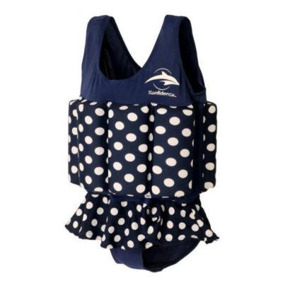 307-03 Konfidence Floatsuit Plavky na učenie plávania Polka Dot 4-5r