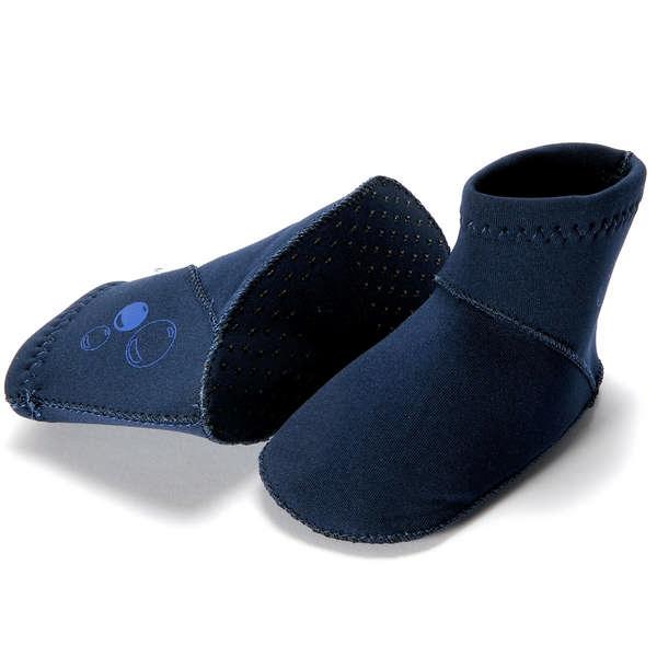 310-01 Konfidende Paddlers Neoprénové ponožky Navy 6-12m