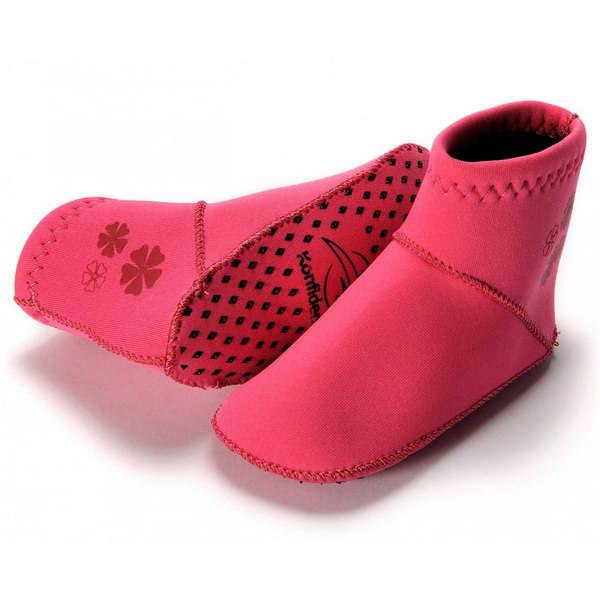 310-06 Konfidence Paddlers Neoprénové ponožky Pink 12-24m