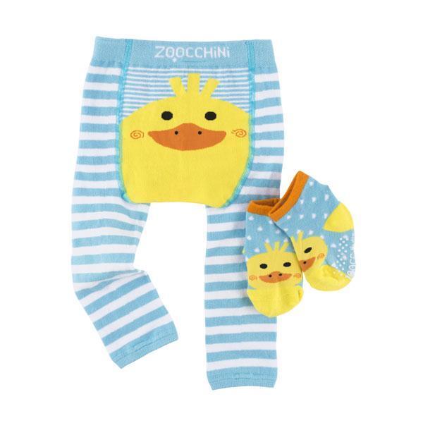 122-014-005 Zoocchini Set  legínky a ponožky Kačka  6 - 12 m