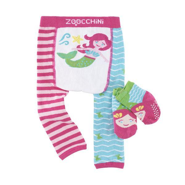 122-014-009 Zoocchini Set  legínky a ponožky morská víla  6 - 12 m