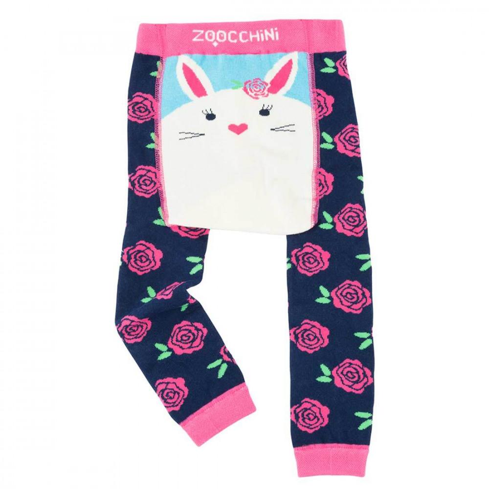 122-014-011 Zoocchini Set  legínky a ponožky Zajačik  6 - 12 m