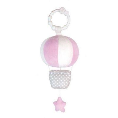 N0096 Jabadabado Hudobná hračka balón ružový