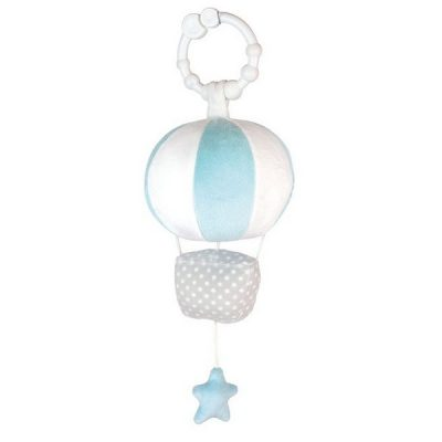 N0097 Jabadabado Hudobná hračka balón modrý