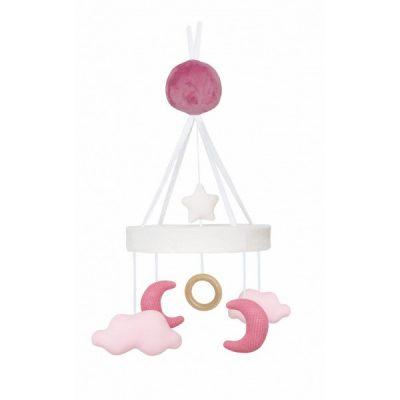 N0117 Jabadabado Hudobný kolotoč mesiac ružový