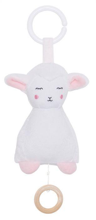 N0131 Jabadabado Hudobná hračka ovečka
