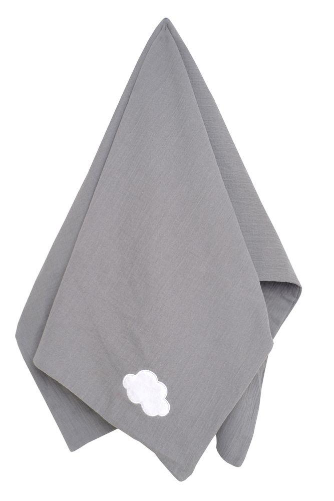 N0134 Jabadabado Detská deka šedá