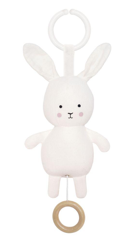 N0136 Jabadabado Hudobná hračka zajačik