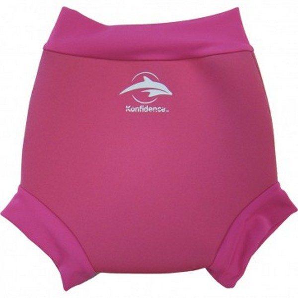 305-17 Konfidence Neonappy neoprénové plavky Pink 6-9m