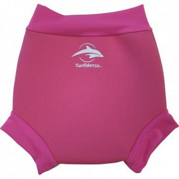 305-18 Konfidence Neonappy neoprénové plavky Pink 9-12m