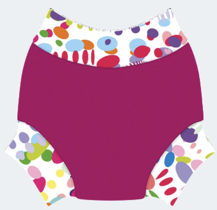 Swim nappy Neoprénové plavky Ružové XL