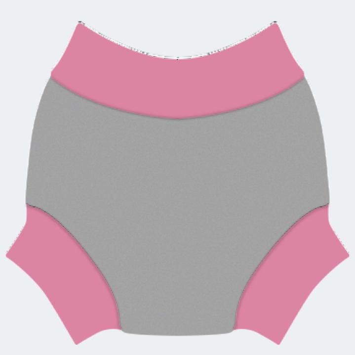 Swim nappy Neoprénové plavky Šedé M