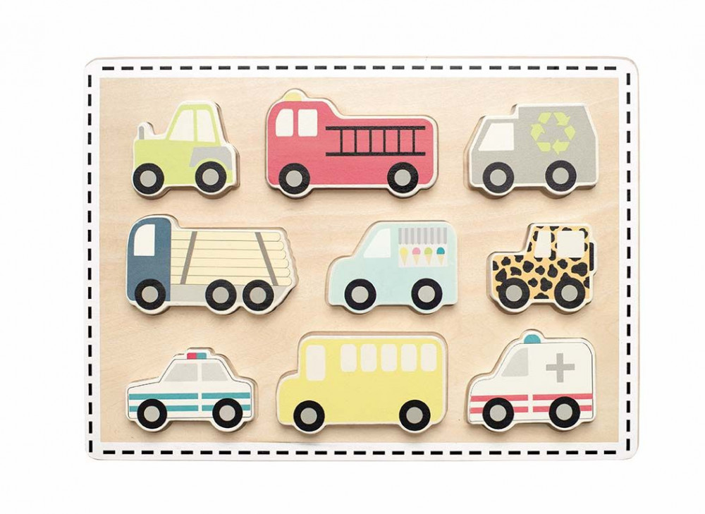 T261 Jabadabado Puzzle autá