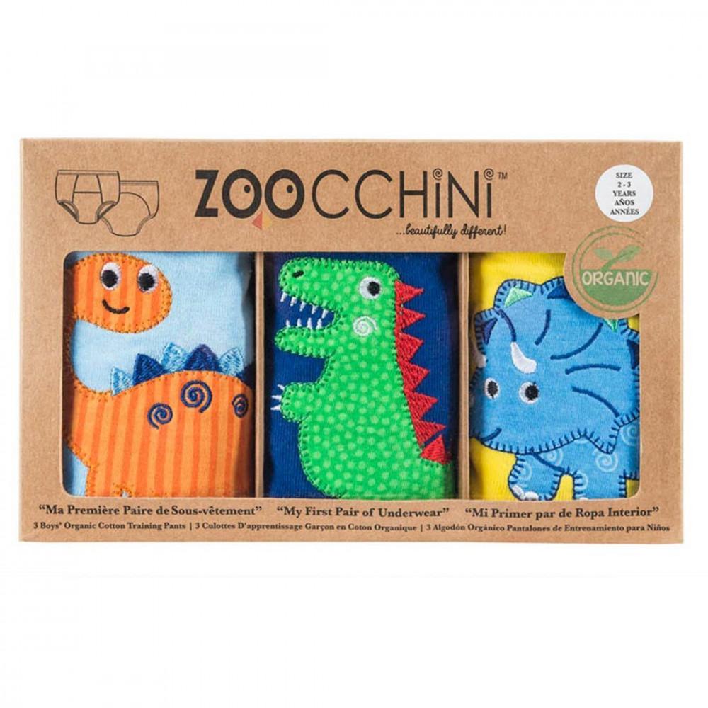 122-003-009 Zoocchini tréningové nohavičky Set3ks chlapec Jurský park 2 - 3 r