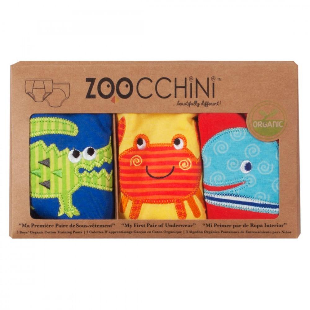 122-003-005 Zoocchini tréningové nohavičky Set 3ks chlapec Kamaráti mora 2 - 3 r