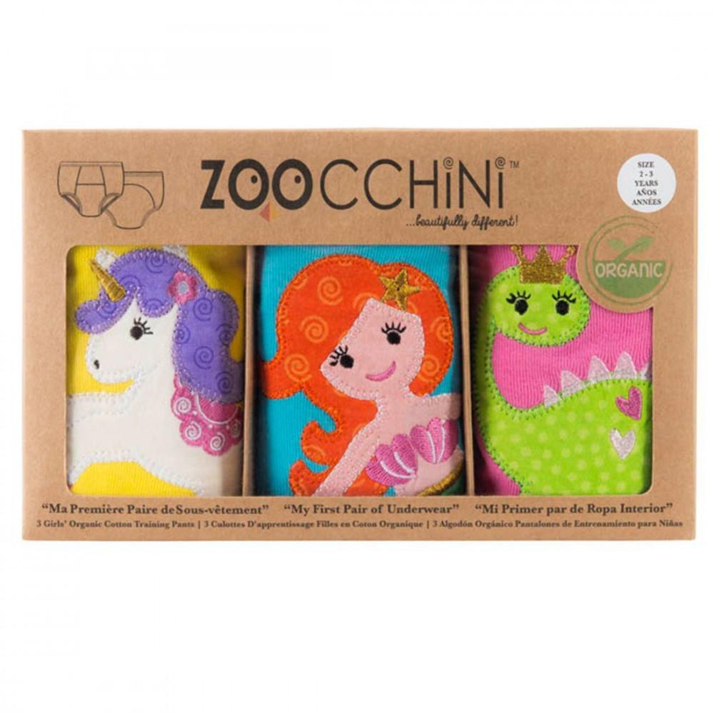 122-003-011 Zoocchini tréningové nohavičky Set3ks dievča Rozprávka 2 - 3 r
