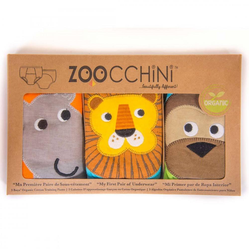 122-003-001 Zoocchini tréningové nohavičky Set 3ks chlapec Safari 2 - 3 r