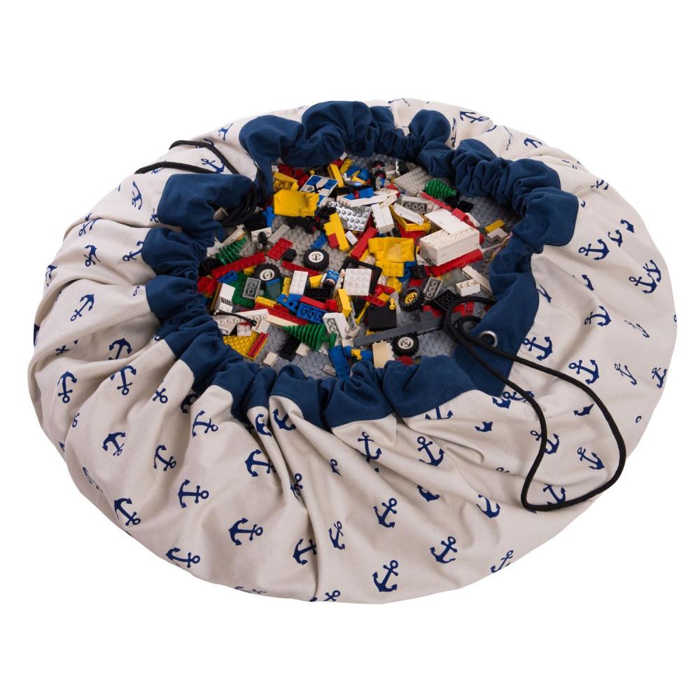 5425038799644 Play&Go vak na hračky Anchor blue