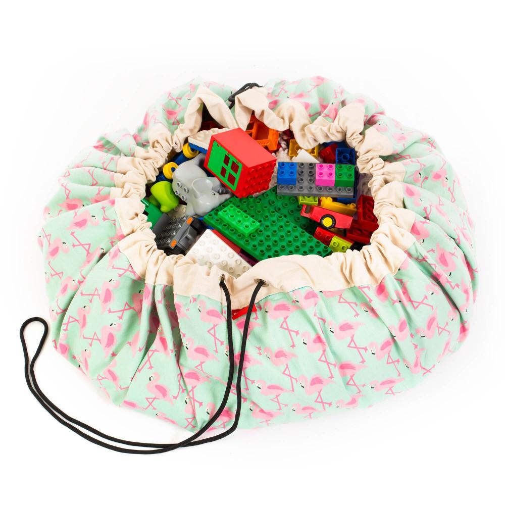 5425038799767 Play&Go vak na hračky Flamingo