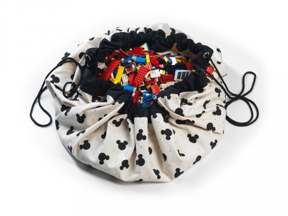 5425038799835 Play&Go vak na hračky Mickey Black