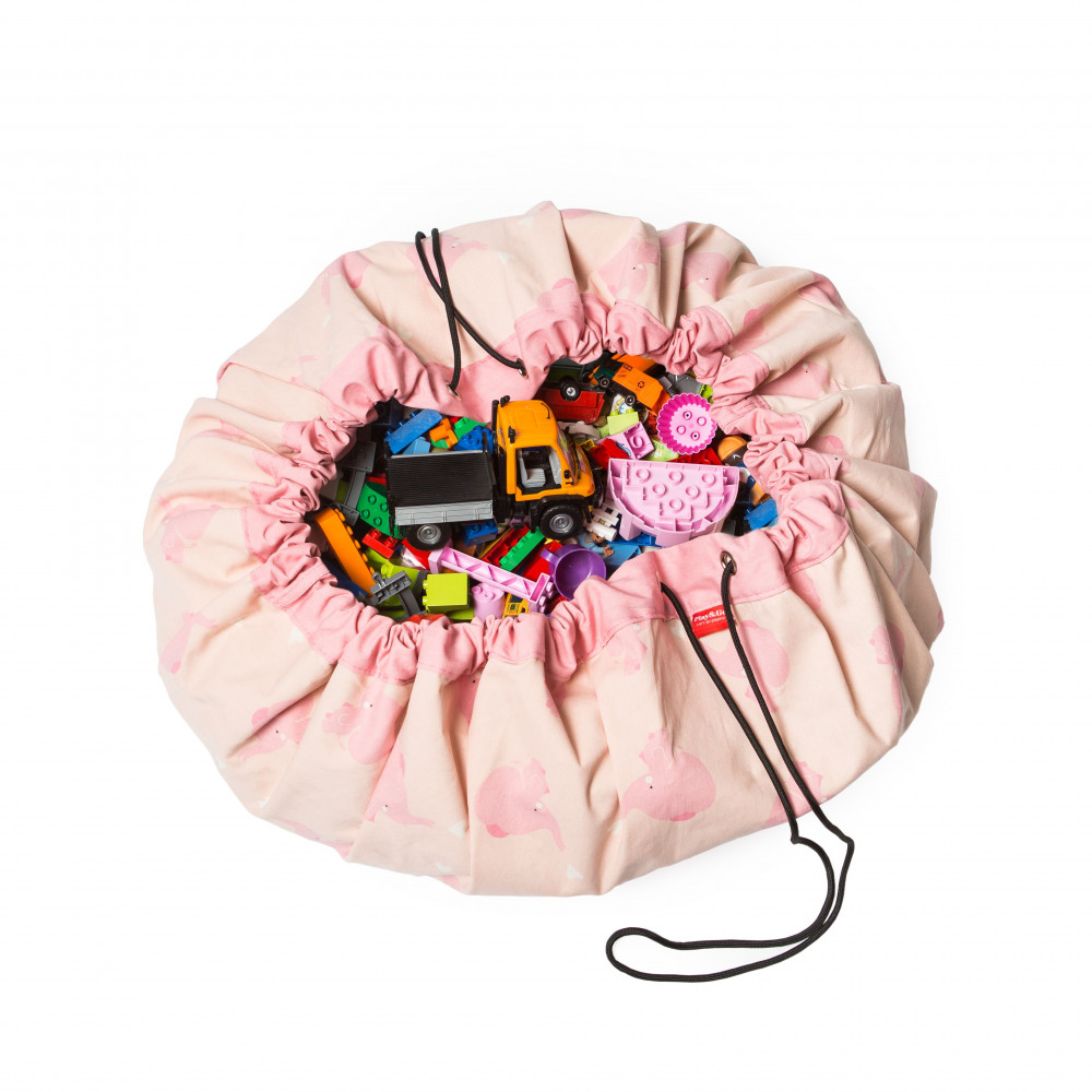 5425038799743 Play&Go vak na hračky Pink elephant