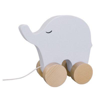 W7126 Jabadabado Hračka na ťahanie slon