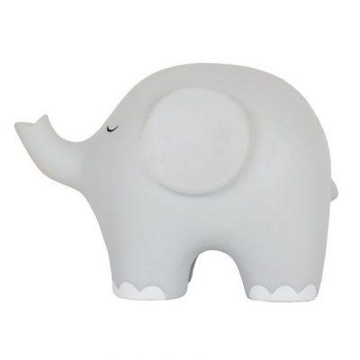 X6100 Jabadabado Nočná lampa slon sivý
