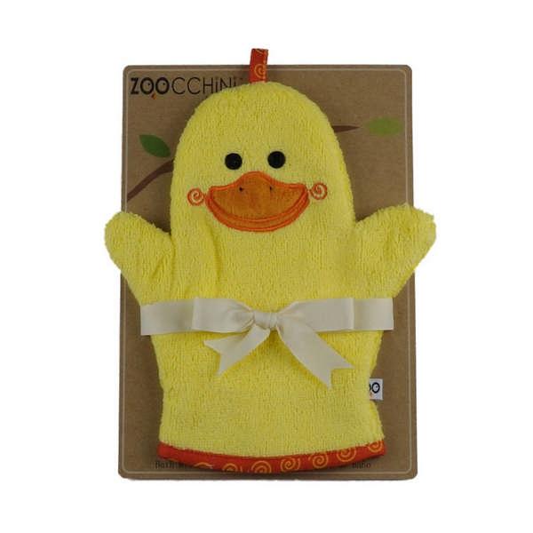 122-002-001 Zoocchini žinka na umývanie bábätka Kačka