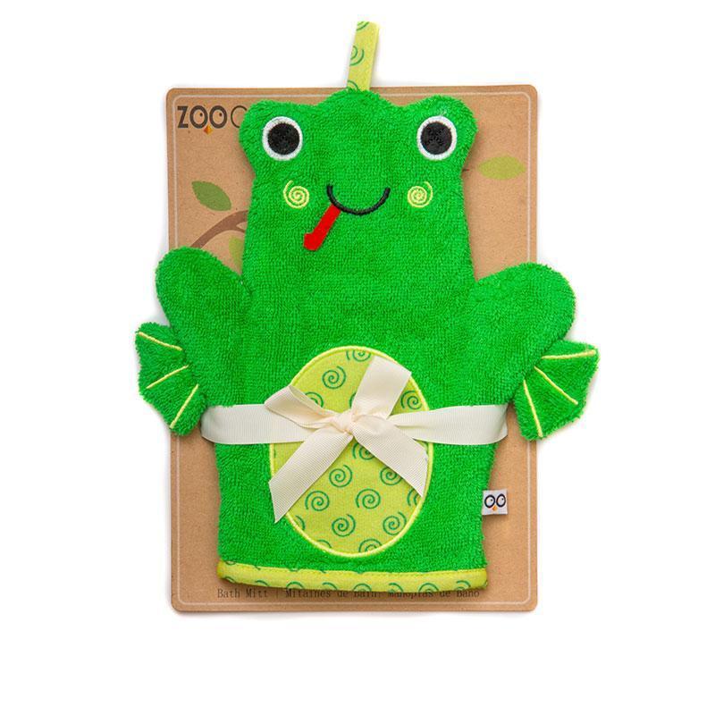 122-002-007 Zoocchini žinka na umývanie bábätka Žaba