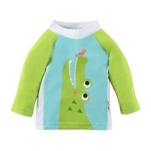 122-015-010 Zoocchini UV tričko Krokodíl 50+ 6 - 12 m